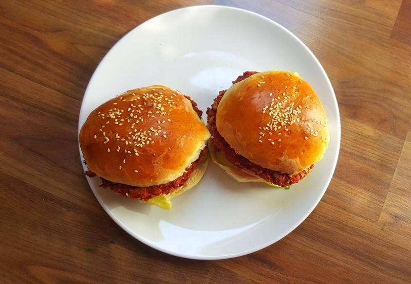 wegetariańskie burgery przepis